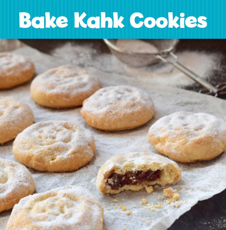 Bake Kahk Cookies