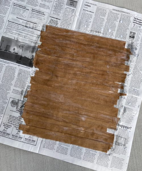 create a papyrus scroll step 6: let your papyrus scroll completely dry