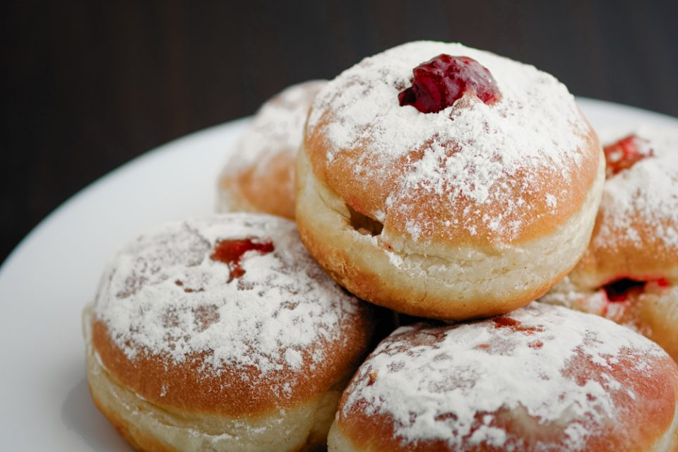 make Hanukkah jelly donuts called sufganiyot with this recipe from Little Passports