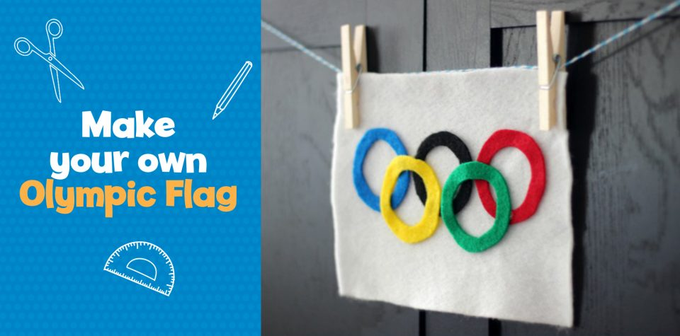 Create your own Olympic flag with Little Passports