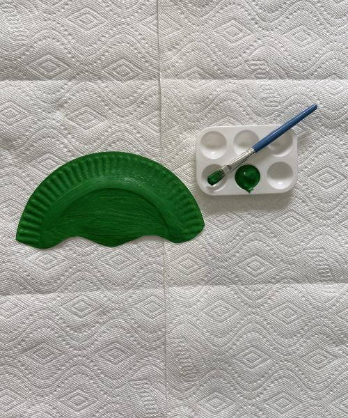 Make a medusa mask with Little Passports step 2