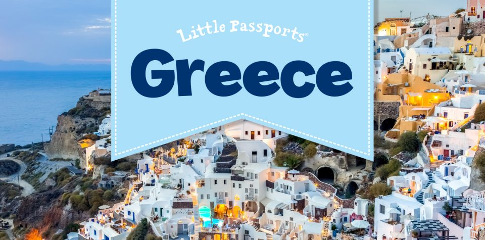 Explore Greece with Little Passports