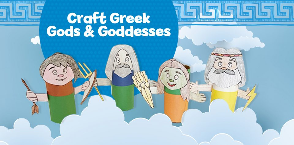 Create your own Greek gods and goddess characters with Little Passports