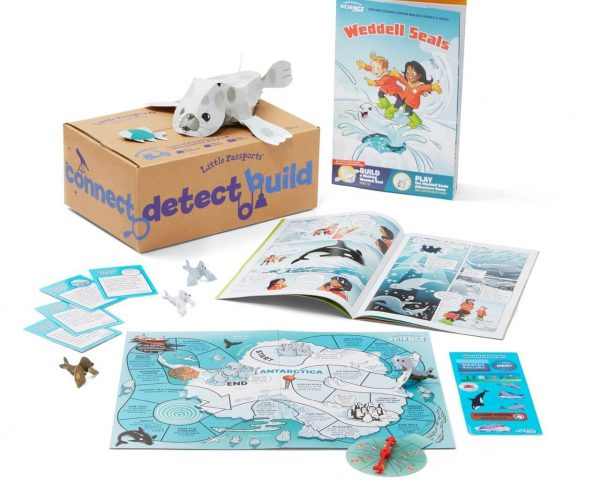 first month of the science junior subscription box