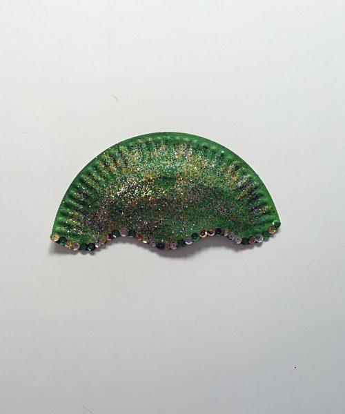 Make a medusa mask with Little Passports step 5