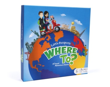 Where To? Board Game image