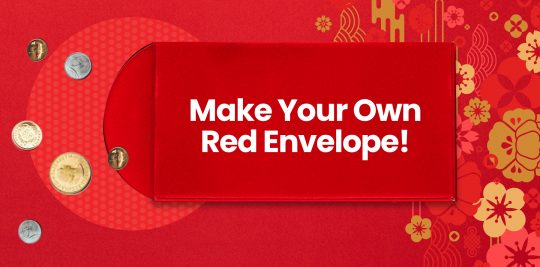 Make your own red envelope DIY craft