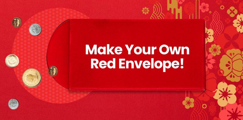 Make your own red envelope DIY craft