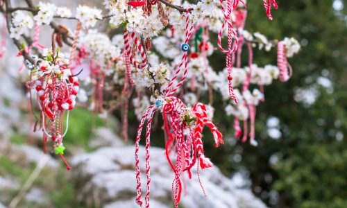 Learn about martenitsa bracelets, a springtime tradition in Bulgaria