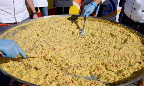 Learn about the Festival of Scrambled Eggs, or cimburijada, a spring festival in Bosnia