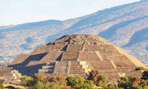Learn about the spring equinox at the Teotihuacan Pyramid in Mexico