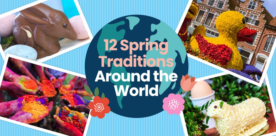 Learn about 12 spring traditions from around the world with Little Passports