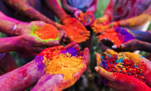 Learn about Holi, a traditional Indian spring festival