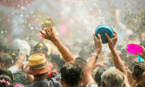 Learn about Songkran, a spring festival in Thailand