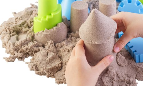 Learn how to make kinetic sand with this activity from Little Passports