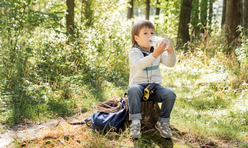 What to do if you get dehydrated while camping; advice from Little Passports
