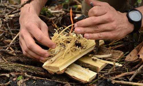 How to start a campfire if it's windy or rainy; advice from Little Passports