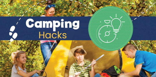 Camping hacks for camping with kids; advice from Little Passports