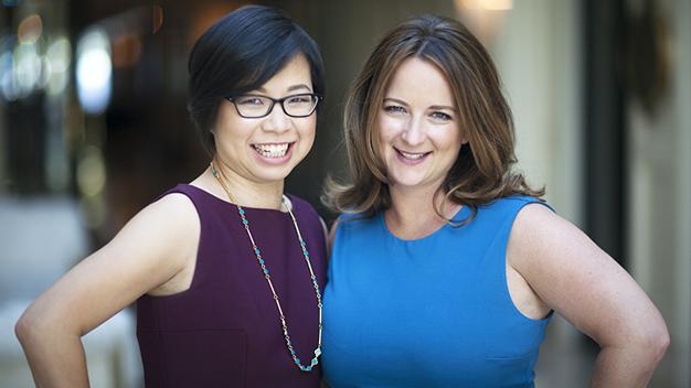 Stella Ma and Amy Norman