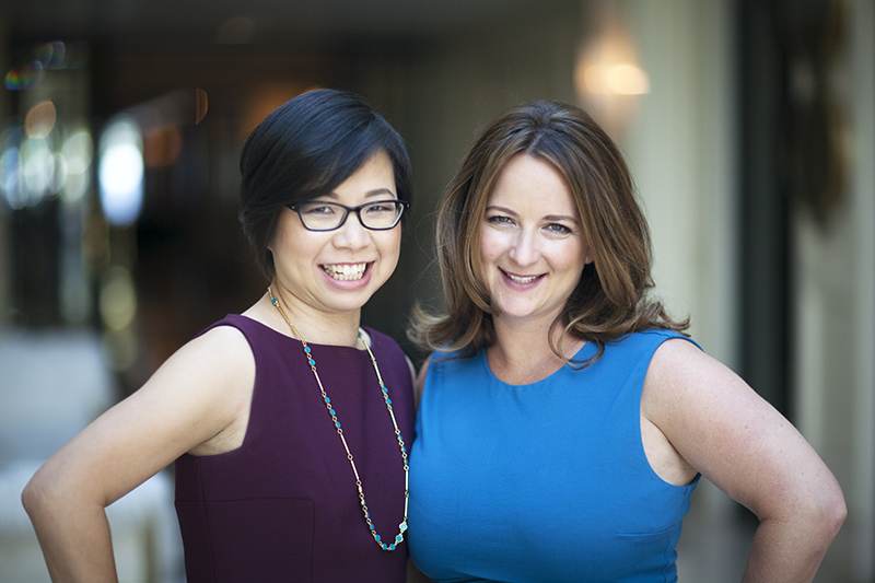 Amy and Stella, Co-CEOs of Little Passports