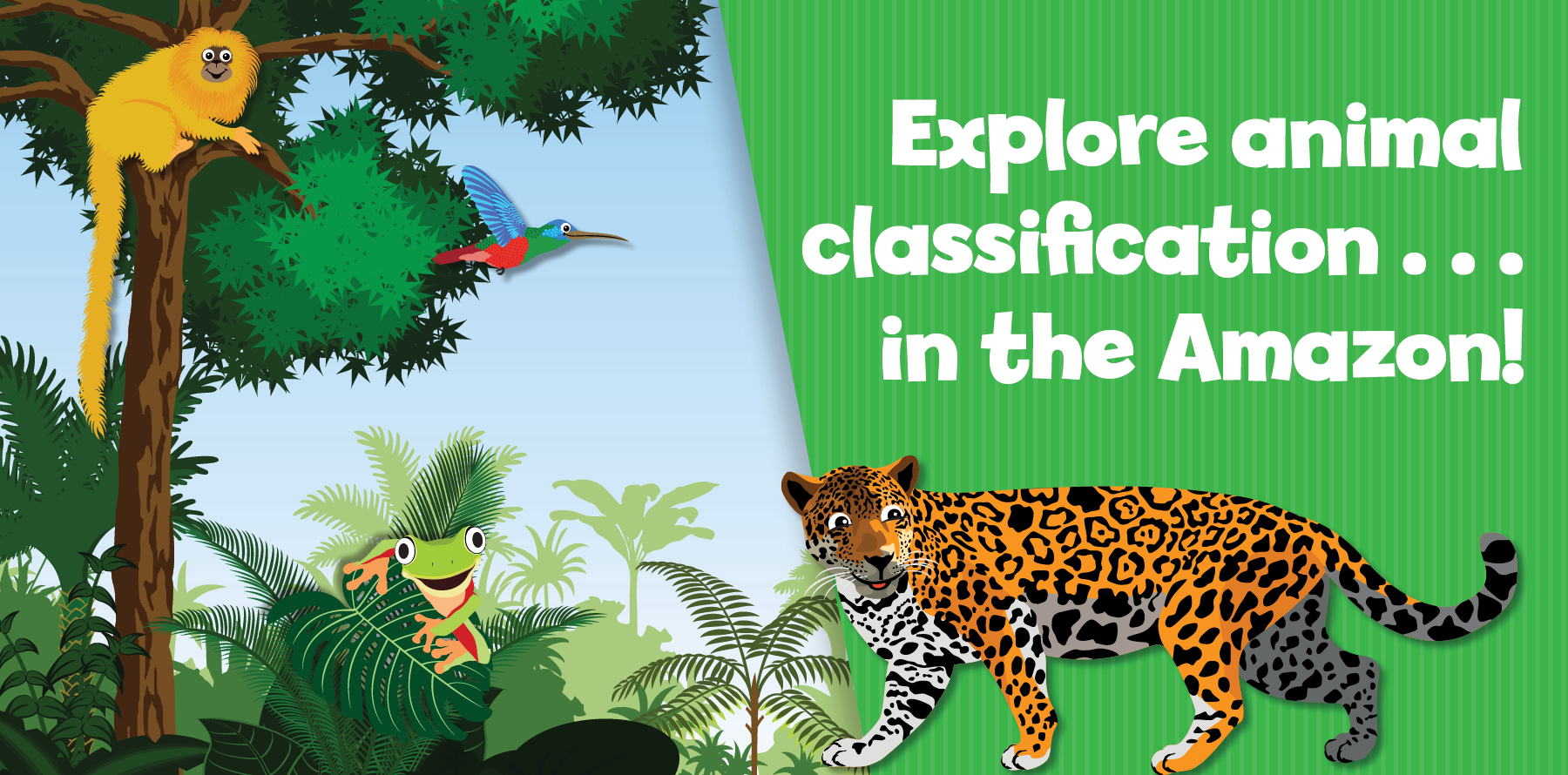 Animal classification activity for kids