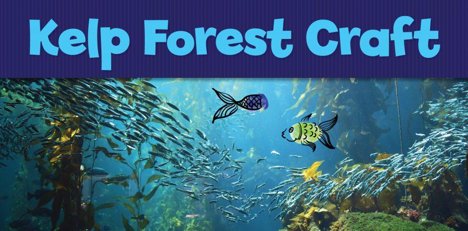 Kelp Forest Fingerprint Critter Craft