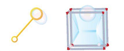 Make a Bubble Cube
