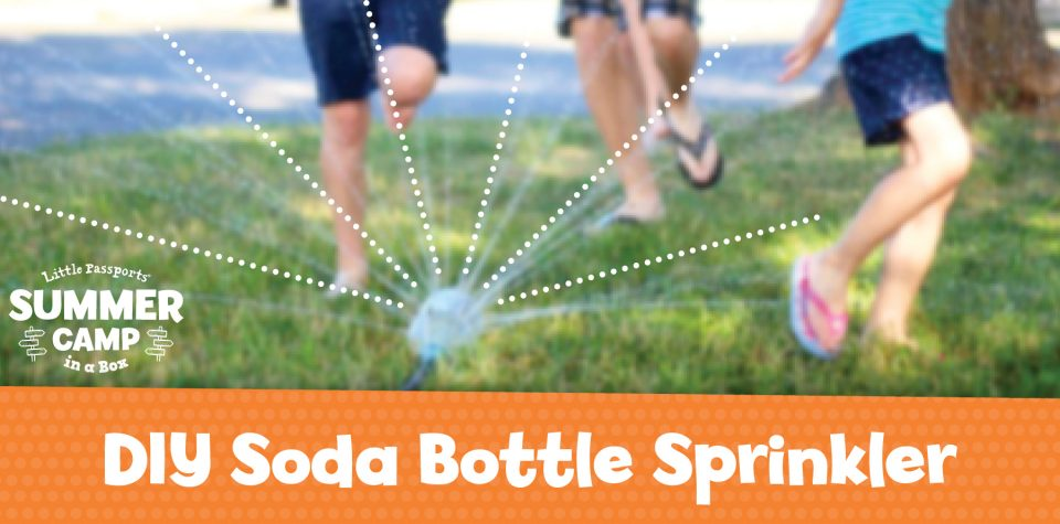 DIY Soda Bottle Sprinkler Project