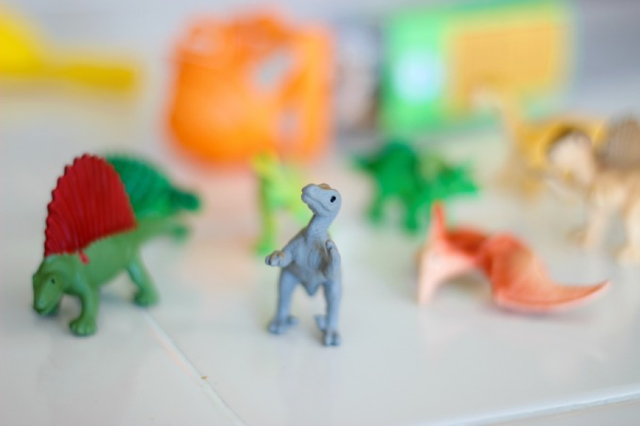 Dinosaur excavation toys
