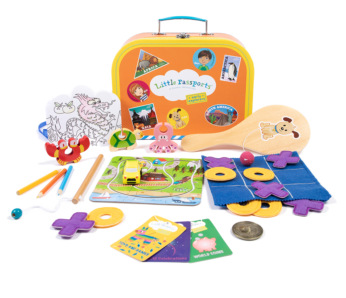 How It Works | Monthly Subscriptions Boxes and Kits | Little Passports