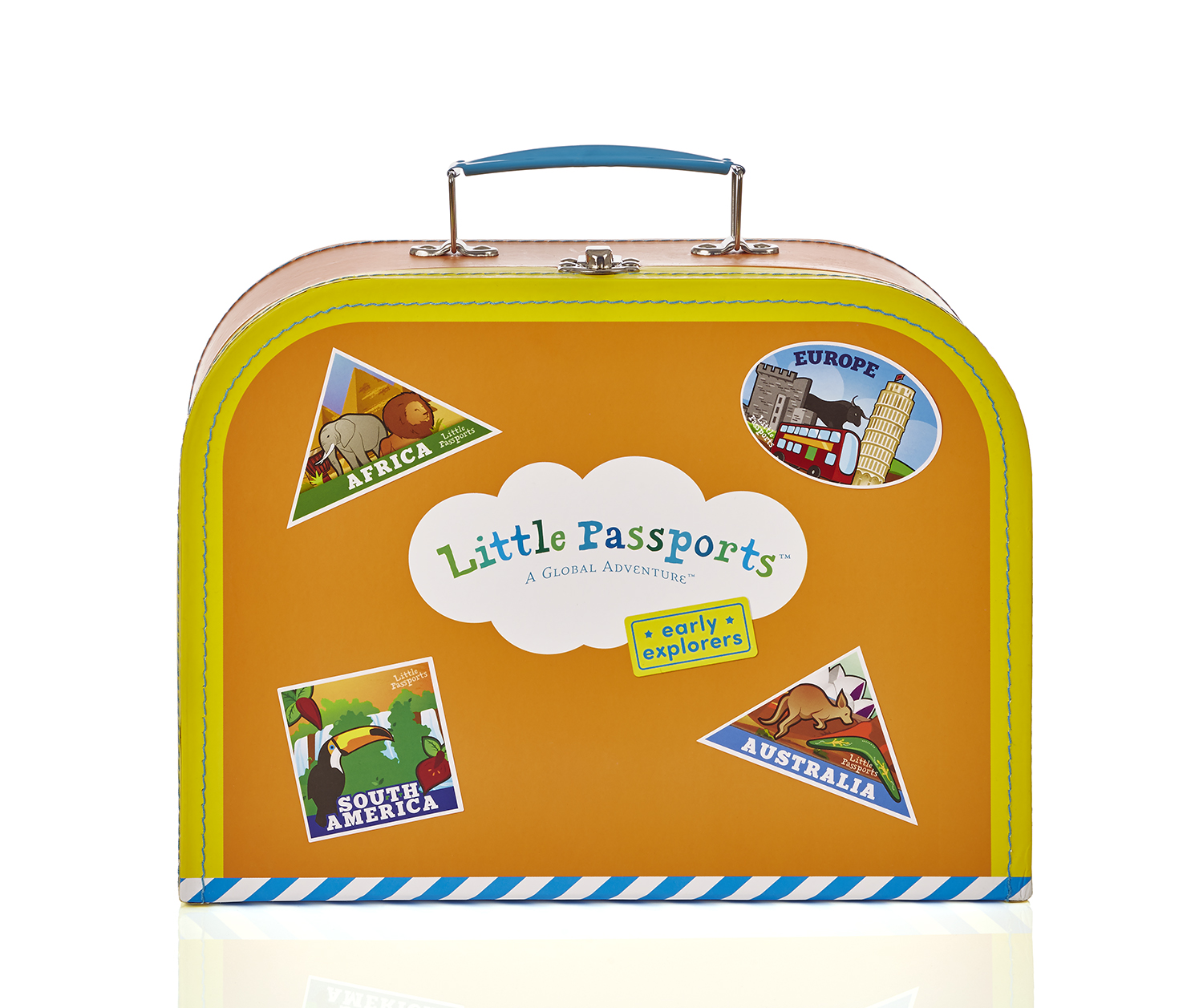 Early Explorers suitcase