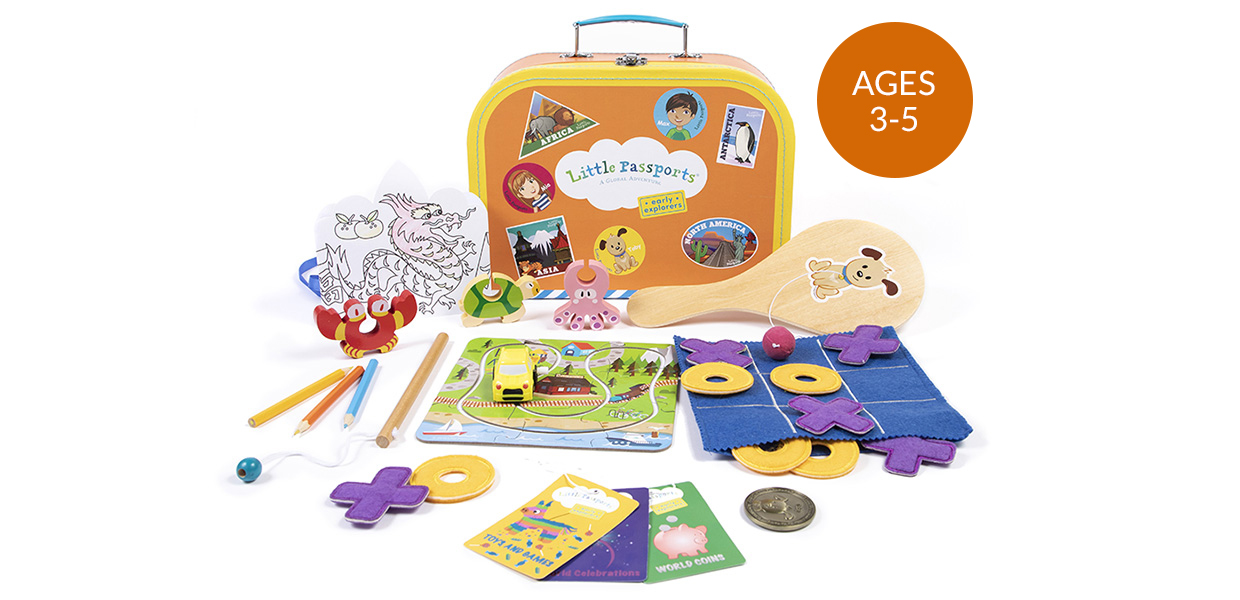 Early Explorers Subscription Kit Ages 3-5