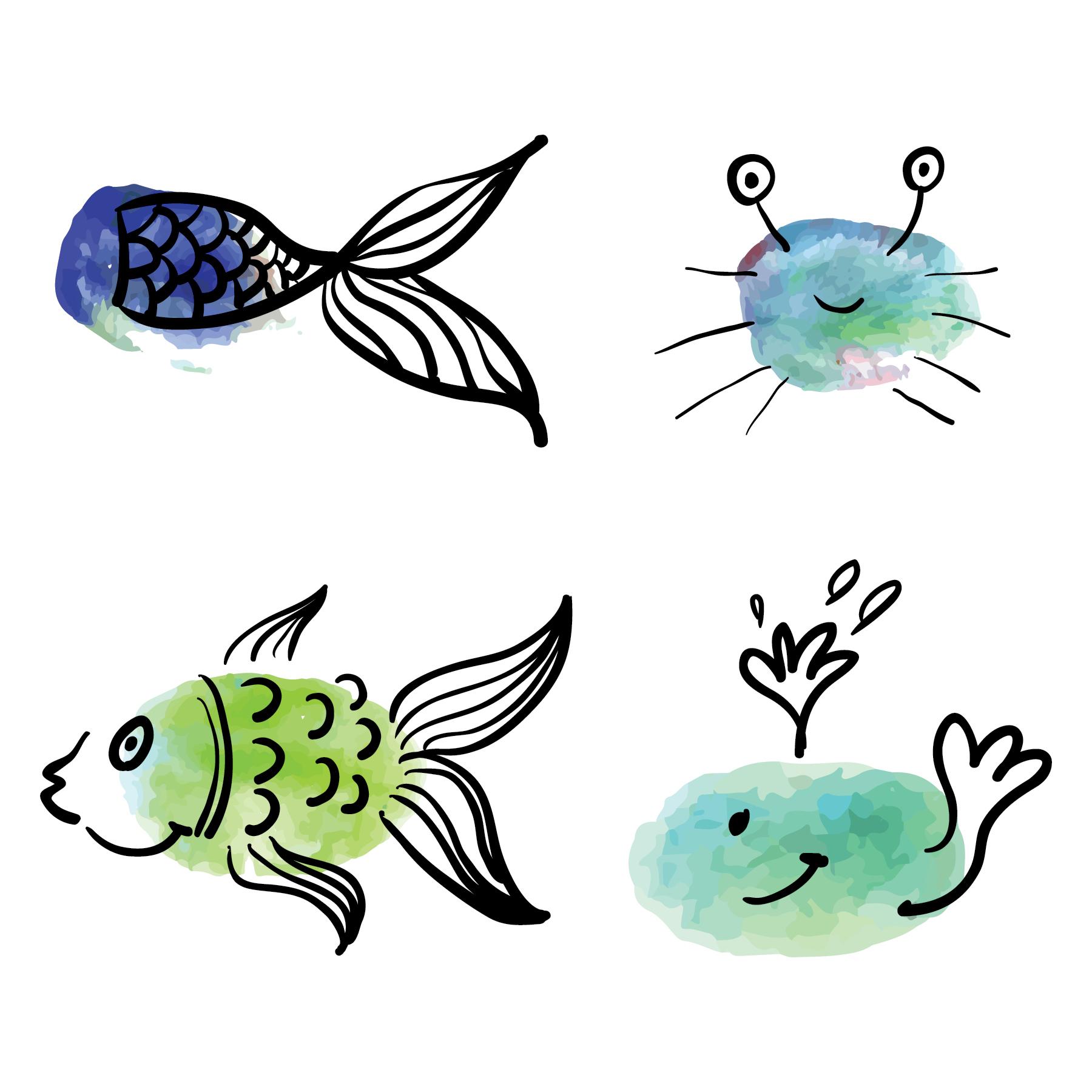 Kelp forest fingerprint sea animals examples