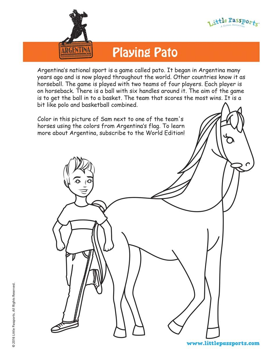 gifts for kids who love art - horse drawing