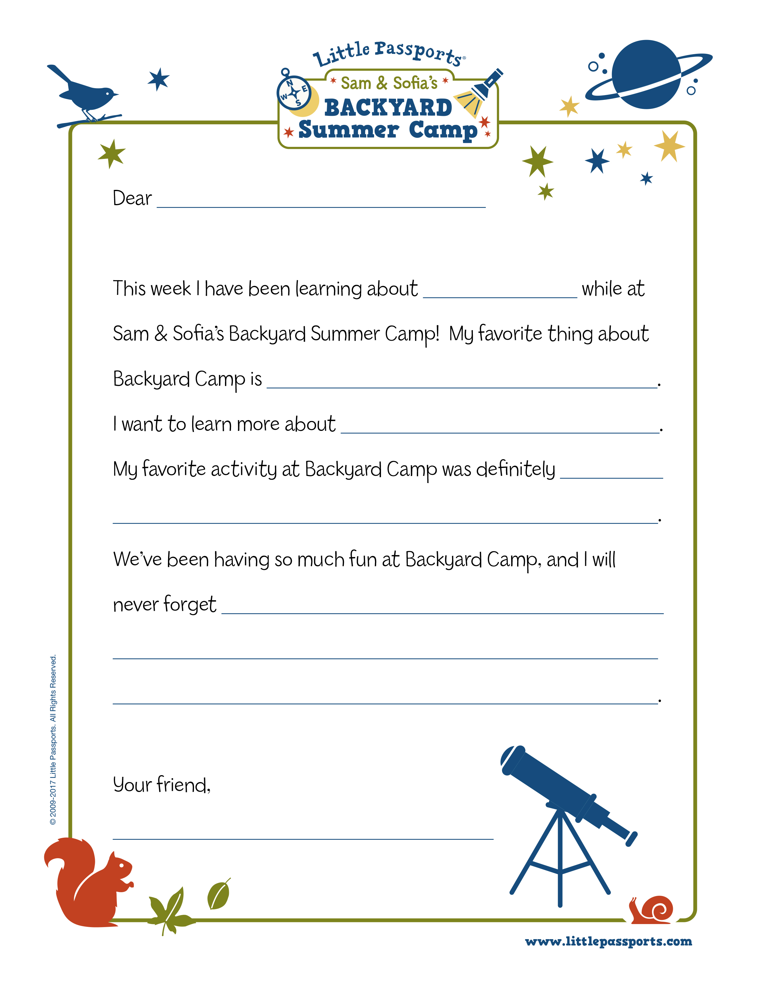 photo about Camping Mad Libs Printable titled Letters Residence versus Camp Printable - Tiny Pports