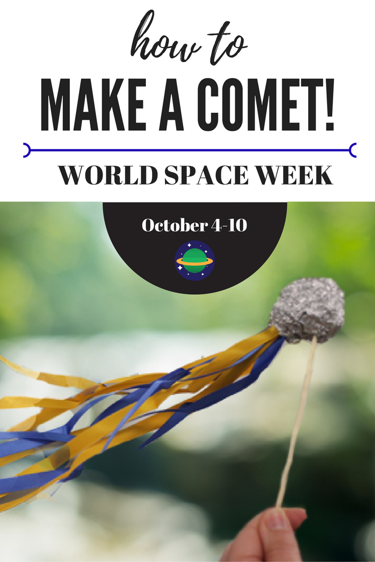 Make a comet for world space week
