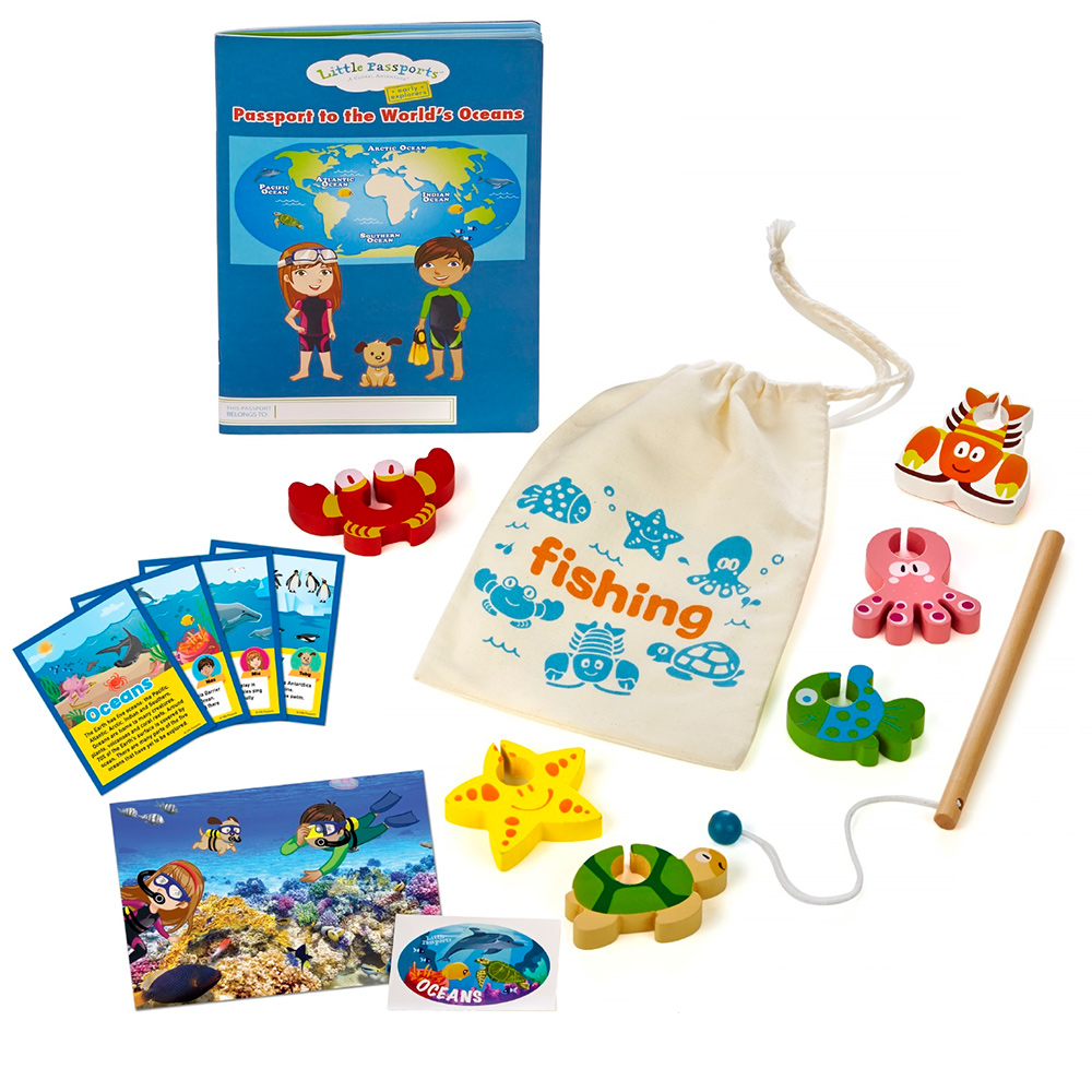 Early Explorers Ocean theme array