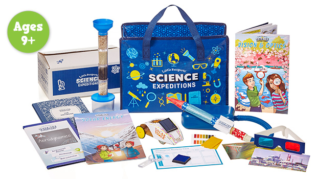 Science Expeditions Ages 9+