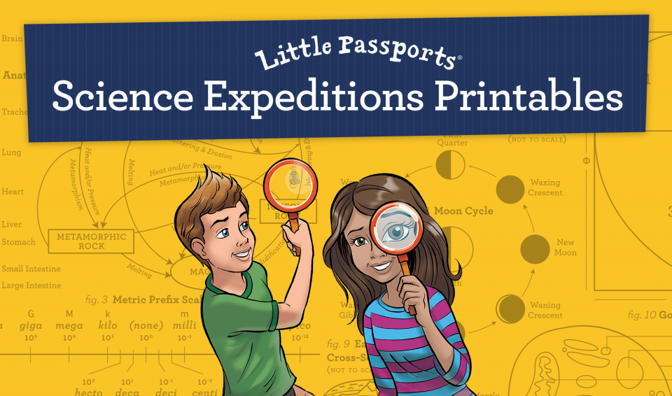 Science Expeditions Printable