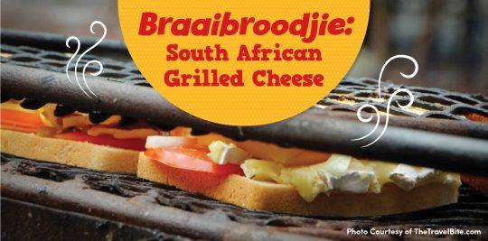 South African Grilled Cheese Recipe Braaibroodjie
