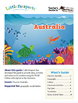 Teacher Guide Lesson Plan Australia