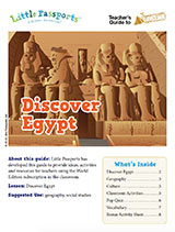 Teacher Guide Lesson Plan Egypt