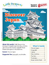 Teacher Guide Lesson Plan Japan