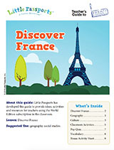 Teacher Guide Lesson Plan France