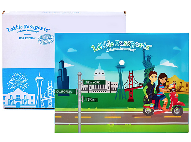 USA Edition Subscription Kit for Kids Age 7-12