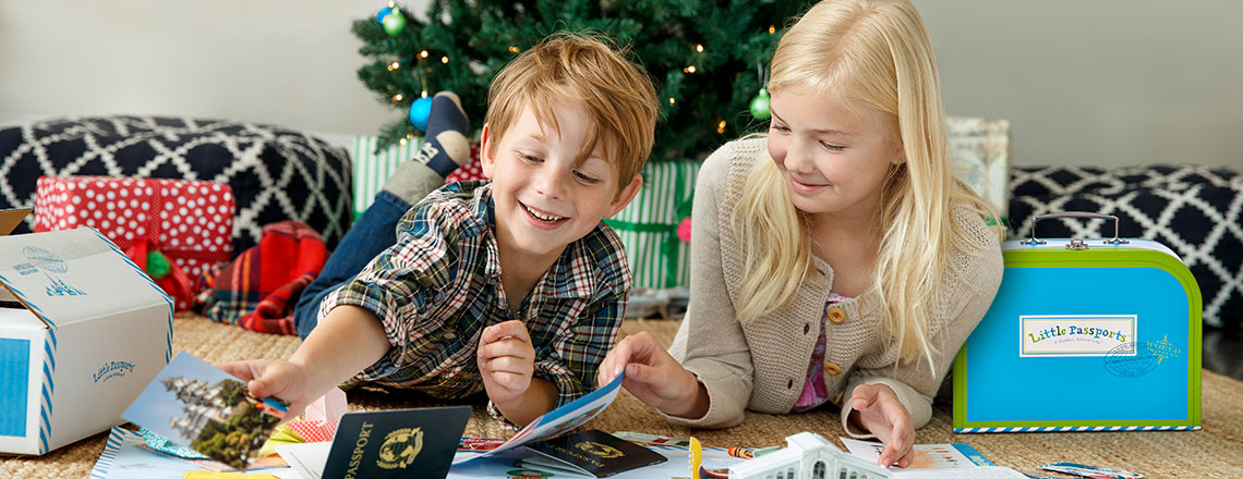 Little Passports Christmas gifts for kids