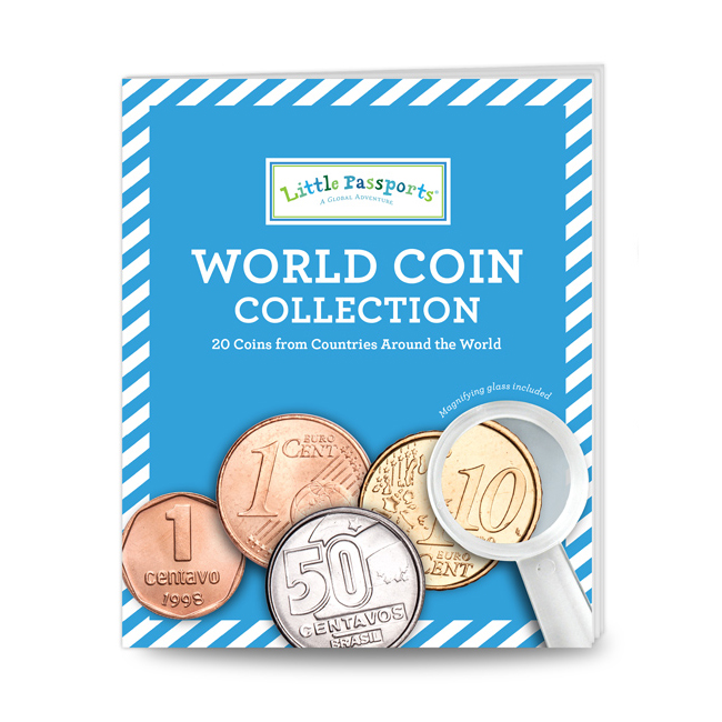 World Coin Collection Educational Gifts for Kids