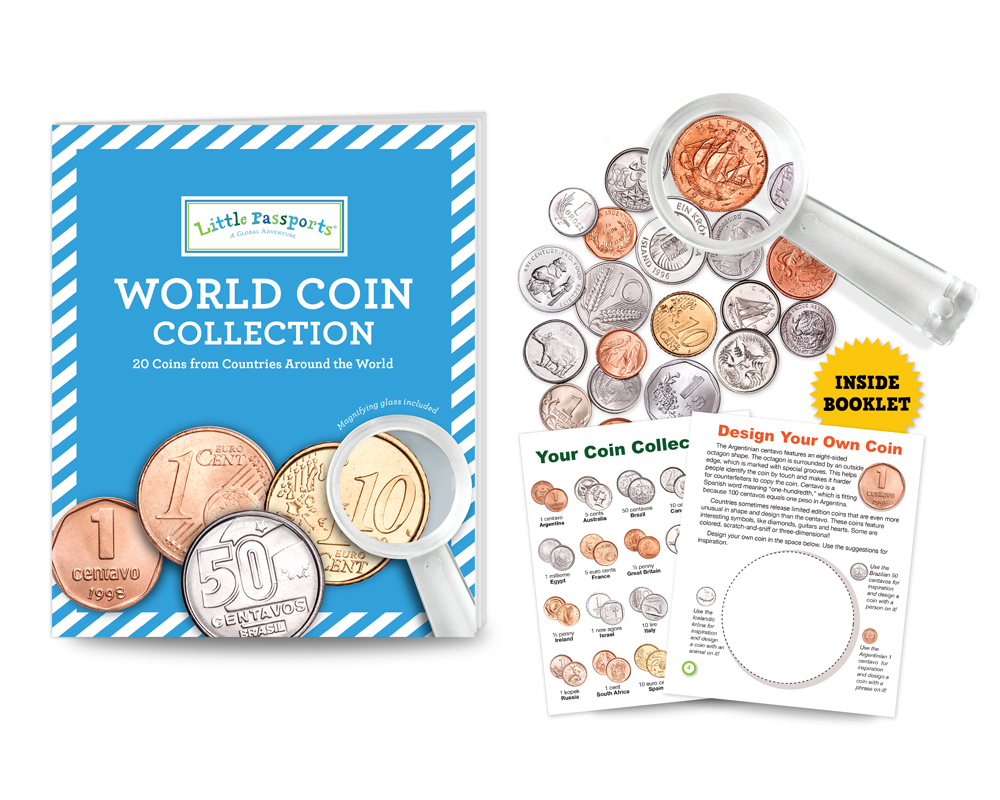 World Coin Collection Composite 1