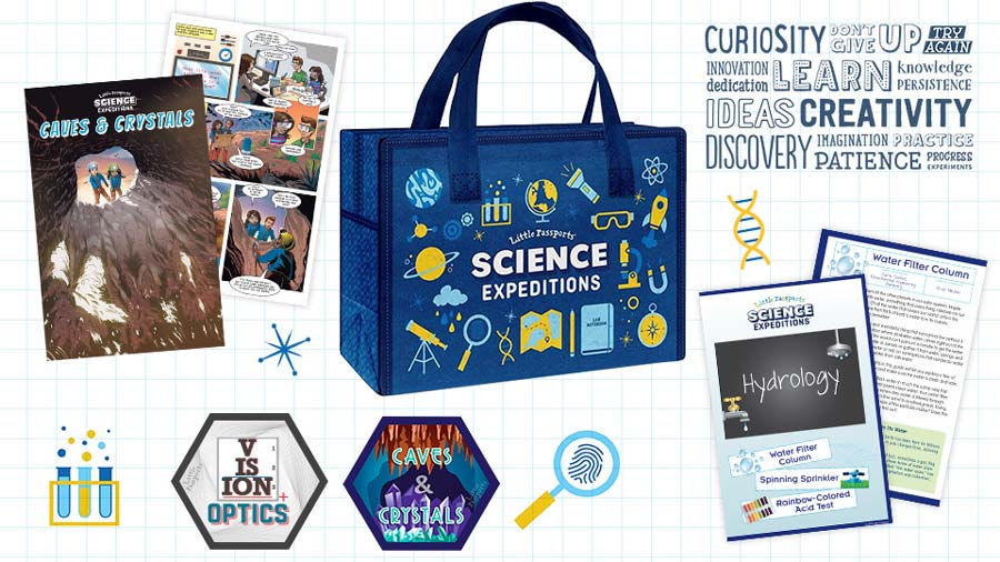 Start your adventure with Science Expeditions!