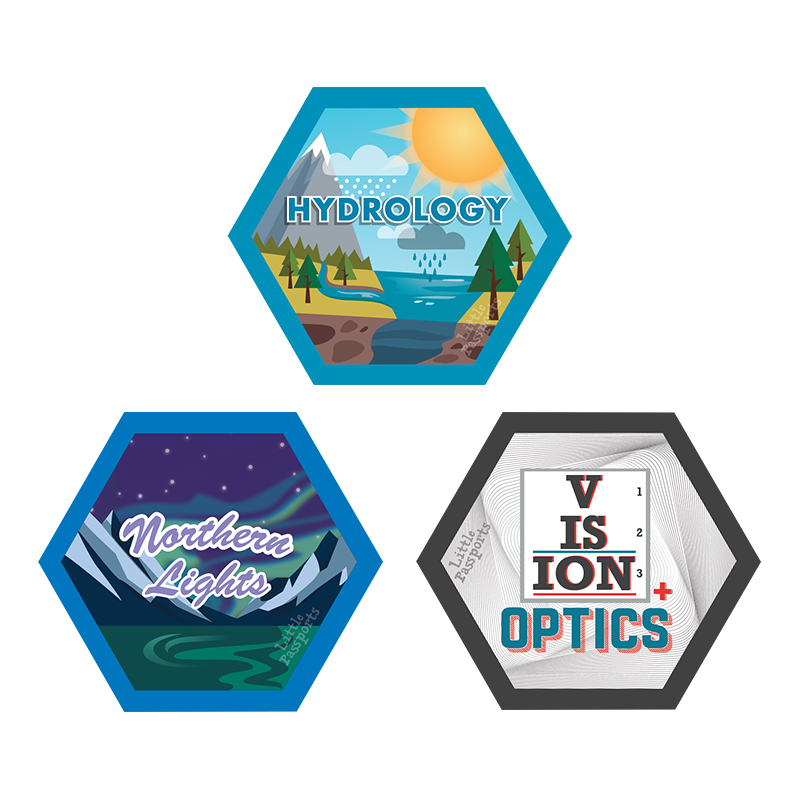 Hydrology, Optics, Northern Lights Science Experiment Kits For Kids